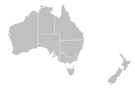 NZ Aus Map